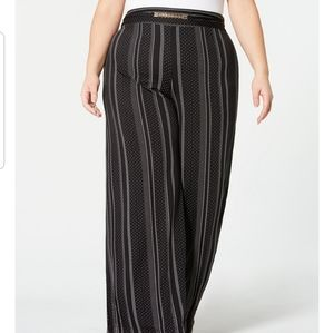 Ny collection bideo wide pants black white…